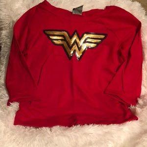 Wonder Woman sequin shirt